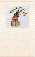 Набор-открытка для вышивки крестом «Фейерверк подарков»