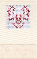Набор-открытка для вышивки крестом «Влюбленные птички»