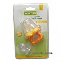 Ниблер (Фрут Фидер) силиконовый Baby Team 6202
