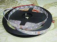 Светодиодная лента 12В 2835 (60LED/м) IP20 синий