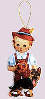 Игрушка из фетра Кукла. Германия-М