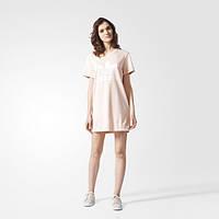 Женское спортивное платье-футболка adidas Originals Trefoil Tee Dress BP9420 - 2017/2