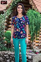 Стильная женская летняя блузка