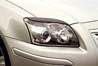 Реснички на фары Toyota AVENSIS 2003-2008 г.в. (Тойота Авенсис)