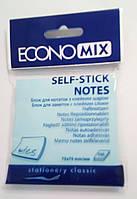 Бумага с липким слоем Economix Е20932-11 100 листов голубая