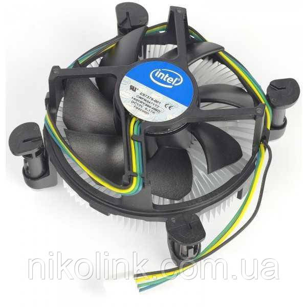 Кулер CPU Intel, s1150/1151/1155/1156, 4-pin PWM комиссионный товар