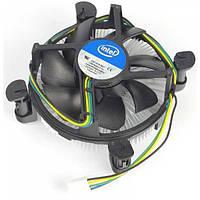 Кулер CPU Intel, s1150/1151/1155/1156, 4-pin PWM, б/у