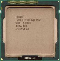 Процессор Intel Celeron Dual Core G550 2.6GHz/5GT/s/2MB  s1155, Tray, Б/У