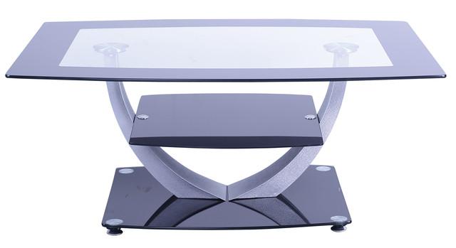 Стол журнальный Odessa 02 закаленное стекло. Размеры: 120х60х43 см.