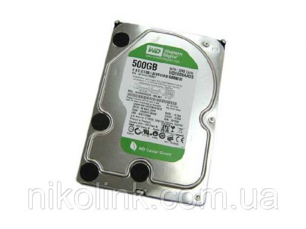 "Жесткий диск 500GB Western Digital Caviar Green 5400rpm 32MB 3.5"" SATA II (WD5000AADS) комиссионный товар"