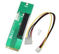 Переходник с разъема M.2 to PCI-Ex