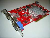 Видеокарта ASUS Radeon 9250,( DDR SDRAM/128bit/AGP) комиссионный товар