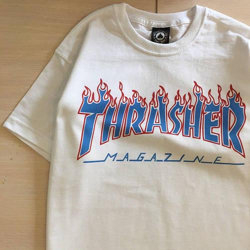 Thrasher Patriot Flame футболка женская черная / бирка