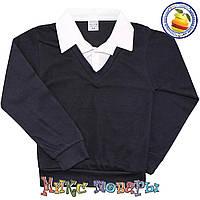 Школьный батник с рубашкой Обманка для мальчика Размеры:от 6 до 12 лет (5560)
