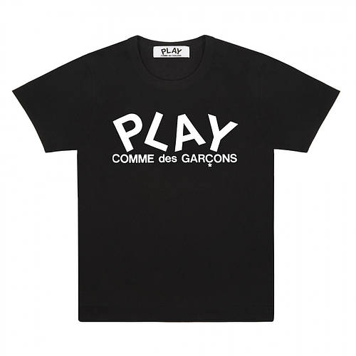 Футболка с принтом Comme des Garcons Play  мужская