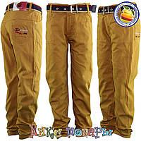 Коричневые брюки для мальчика Размеры: 5-6-7-8 лет (5564)