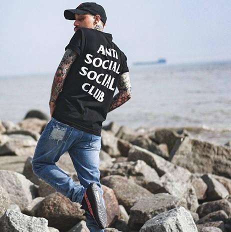Футболка Anti Social social club мужская ASSC