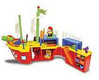 Игровой набор - ПИРАТСКИЙ КОРАБЛЬ (на колесах, свет, звук) от Kiddieland - preschool - под заказ