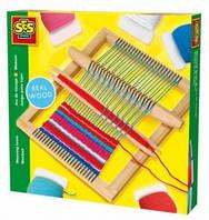 Набор для плетения - ТКАЦКИЙ СТАНОК МАКСИ (станок, нитки) от Ses - под заказ