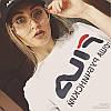 Футболка Гоша Рубчинский FILA женская Бирка оригинальная, фото 5
