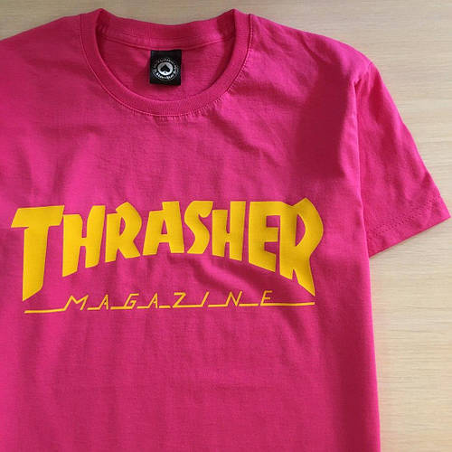 Футболка с принтом Thrasher Skateboard Magaz