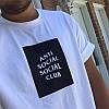 Футболка A.S.S.C. Белая Anti Social social club бирка, фото 3