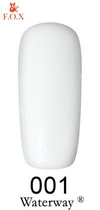 Гель-лак F.O.X. Waterway №001 6мл белый