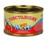 Толстолобик Море обжаренный в томатном соусе 230г