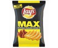 Чипсы Lay's Мaxx картофельные вкус куриных крыльев барбекю 120 г