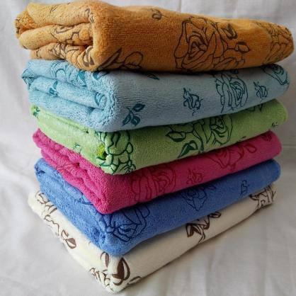 c52a98da7af9 БАННОЕ полотенце микрофибра. Махровые полотенца оптом 151-1  продажа ...
