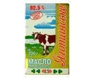 Масло сладкосливочное Яготин ГОСТ 82.5% 200г