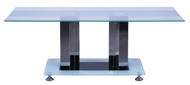 Стол журнальный Адажио CT003 закаленное стекло. Размеры; 120х60х45 см.