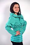 Бирюзовая куртка болеро молодежка  арт 4037 , фото 2