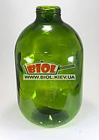 Бутылка (бутыль) 10л стеклянная зеленая под крышку Твист-Офф 82