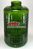 Бутылка (бутыль) 15л стеклянная зеленая под крышку Твист-Офф 100
