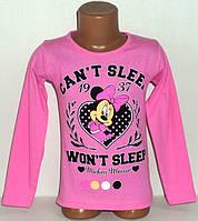 """Кофта """"Can't sleep"""" на девочкуоптом 6,7,8 лет, 100% хлопок.Детская одежда оптом"""