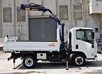 Установка манипуляторов на грузовые автомобили