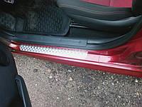 Накладки на пороги Infiniti G Coupe Q60 Nataniko