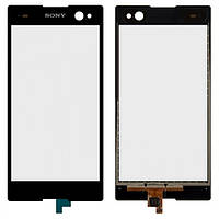 Сенсор (тачскрин) для Sony D2502 Xperia C3 Dual черный