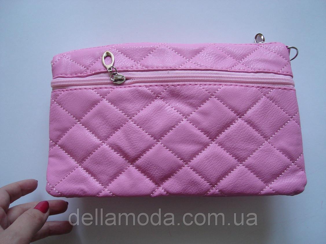 72207ee574de Сумка - клатч трансформер розовая, цена 120 грн., купить в Львове — Prom.ua  (ID#38452246)