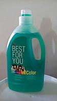 Best for you color - пральний гель для кольорових речей 1,5л
