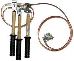 Заземленя перен. ЗПП-1-3/3-16 для РП до  1кВ (16 мм кв)