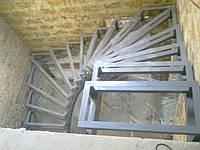 Лестницы металлокаркас