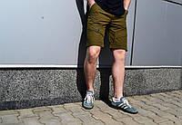 Стильные молодежные мужские летние шорты Cherokee цвет горка (олива)