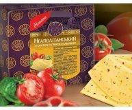 Сыр Клуб сиру Неаполитанский томат паприка базилик 45% 1кг