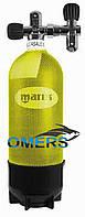 Баллон для дайвинга Mares 15 л 232 bars одновентельный, фото 1