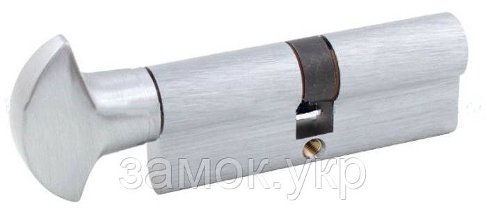 Securemme K2 60мм 30х30 ключ/тумблер матовый хром (Италия)