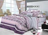 Комплект постельного белья двуспальный сатин, 100% хлопок. (арт.7661)