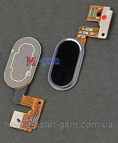 Шлейф с кнопкой включения для Meizu M3 Note L681H (14pin) black