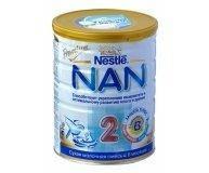 Заменитель грудного молока Nestle Nan2 800г